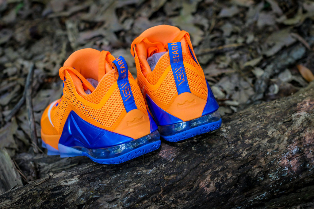 016afee2e6aa Nike LeBron 12 Low Bright Citrus 724557-838 (3)