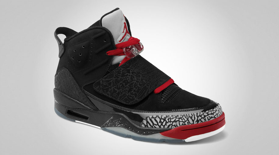 b132dcb17b6 Jordan Son of Mars - Black/Varsity Red-Cement Grey-White - Official ...