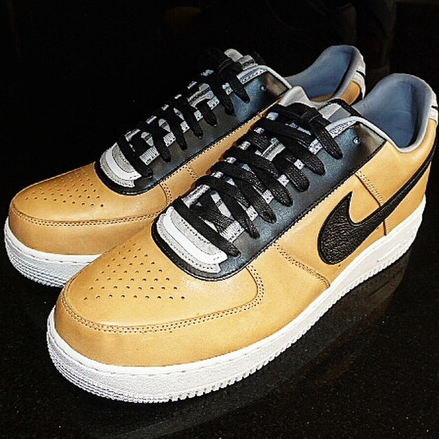 DJ Clark Kent Picks Up Nike Air Force 1 Low RT Beige