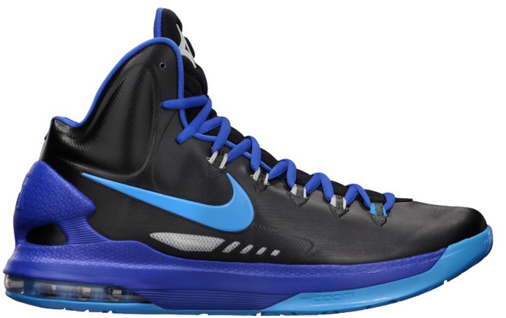 the best attitude 2131e 4aefa Nike KD V 554988-003 Black Blue Glow-Game Royal-Strata Grey