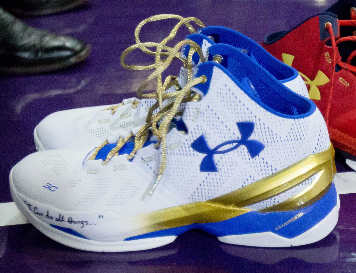 sports shoes 25c4f cfc90 There's a 'Championship' Colorway of the Under Armour Curry ...