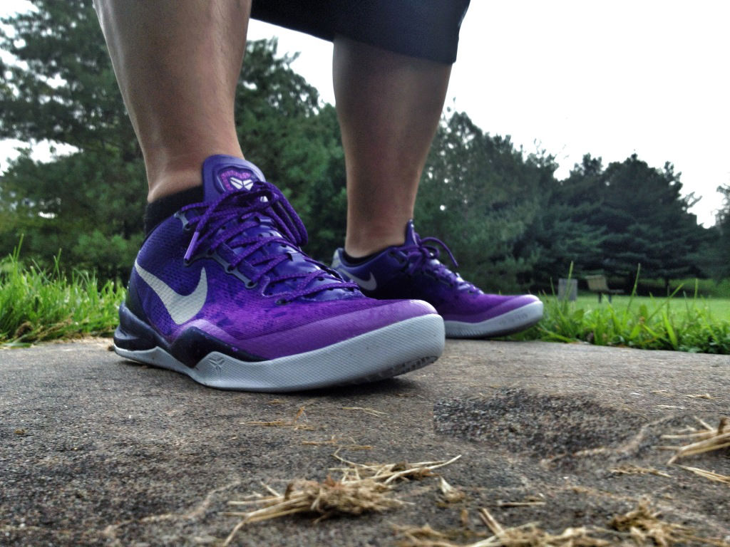 Spotlight // Forum Staff Weekly WDYWT? - 8.10.13 - Nike Kobe 8 System Court Purple by Shooter