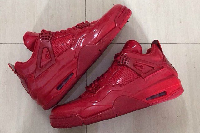 Air Jordan 11Lab4 Red 719864-600 (1)
