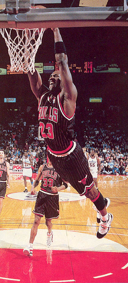 Michael Jordan wearing Air Jordan XI 11 Concord (22)