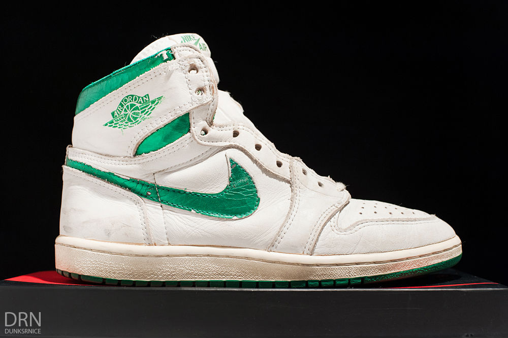 Spotlight // Pickups of the Week 10.20.13 - Air Jordan 1 I OG Green Metallic by dunksrnice
