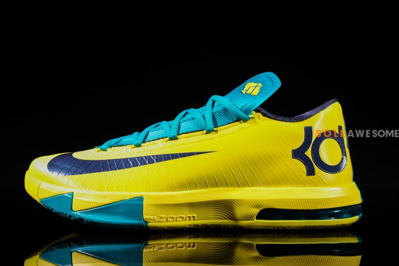 blue and yellow kd 6