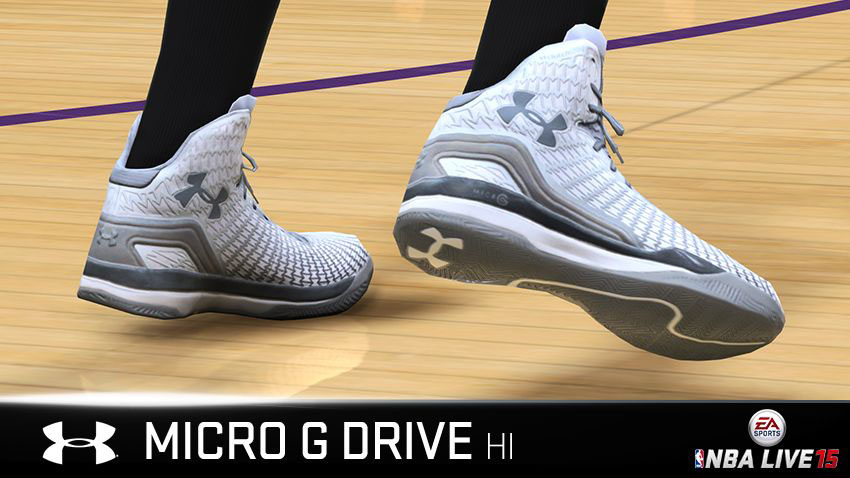NBA Live 15 Sneakers: Under Armour ClutchFit Drive