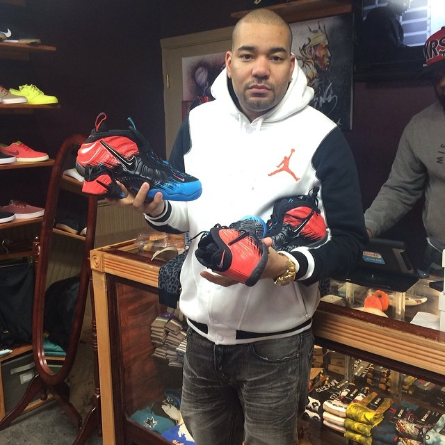 DJ Envy Picks Up Nike Air Foamposite Pro Spider-Man