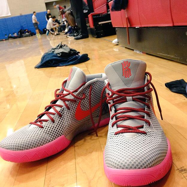 24714576e663 New Nike Kyrie 1 Colorway Spotted at Cavs Practice