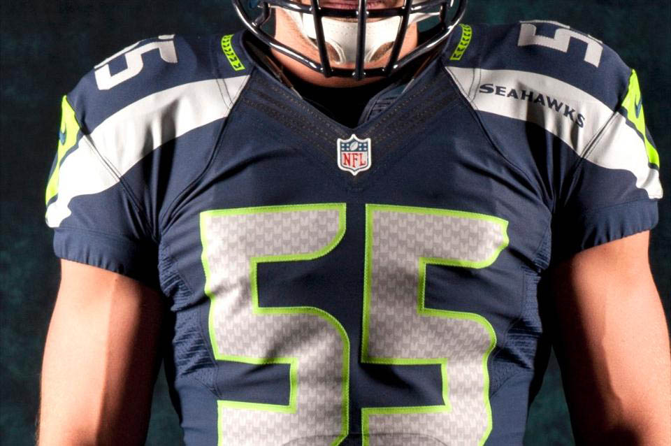 huge discount 05226 72167 Nike Unveils New Seattle Seahawks Football Uniforms   Sole ...