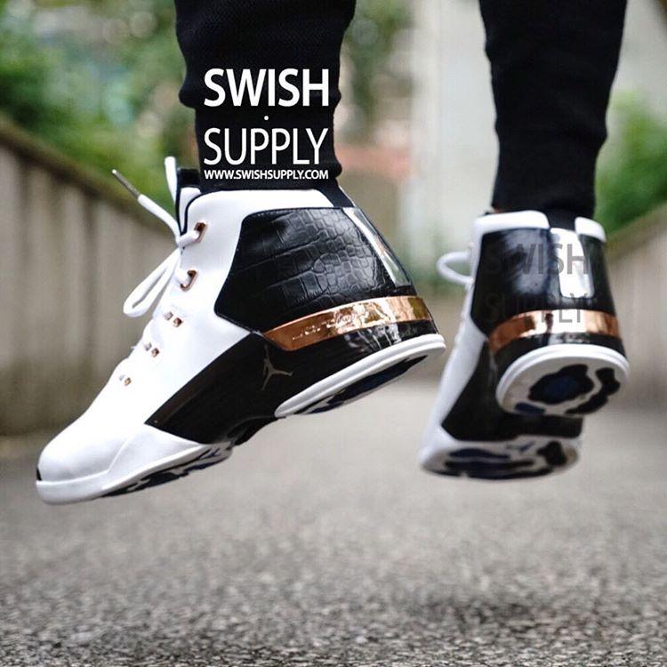 981843c7393ea8 Air Jordan 17 Copper On-Foot 832816-122 (6)