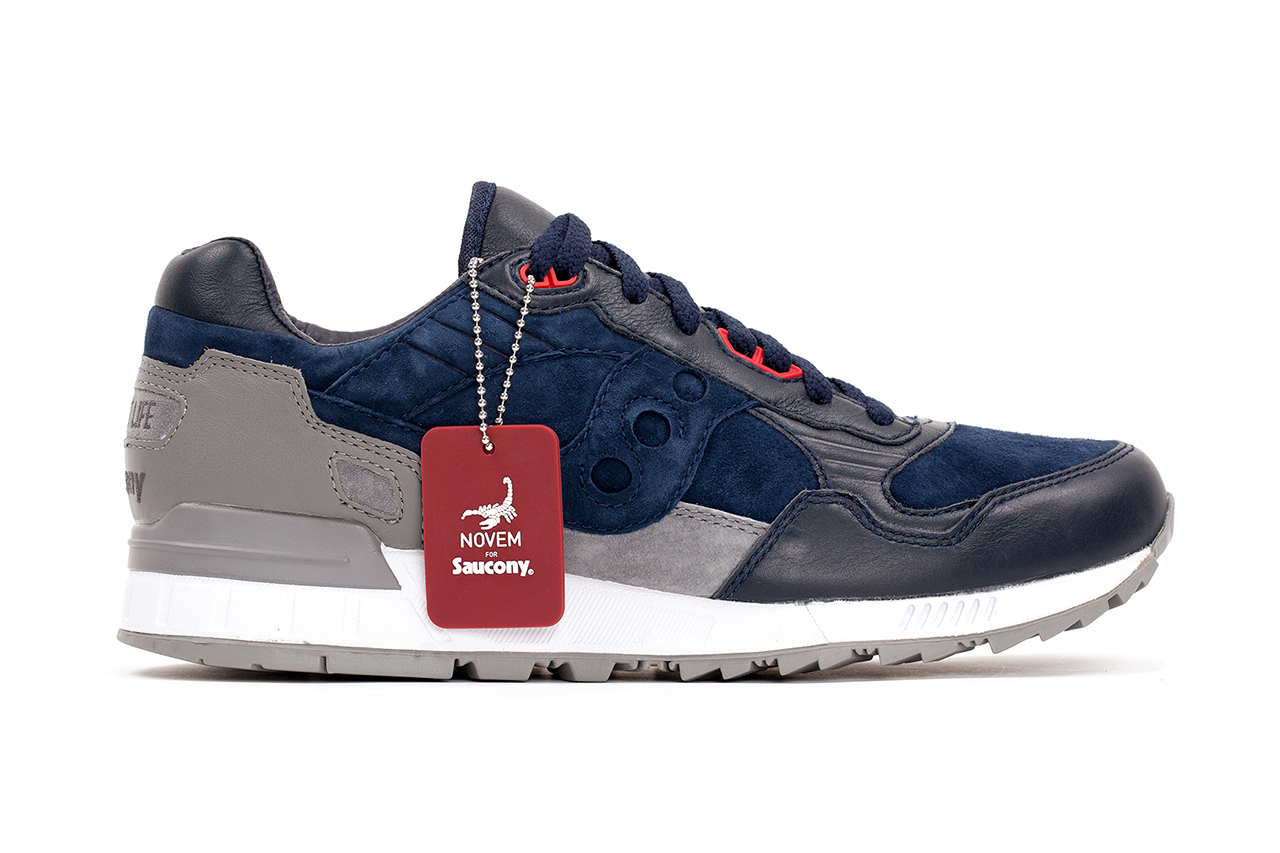 The Distinct Life x Saucony Shadow 5000 Novem profile