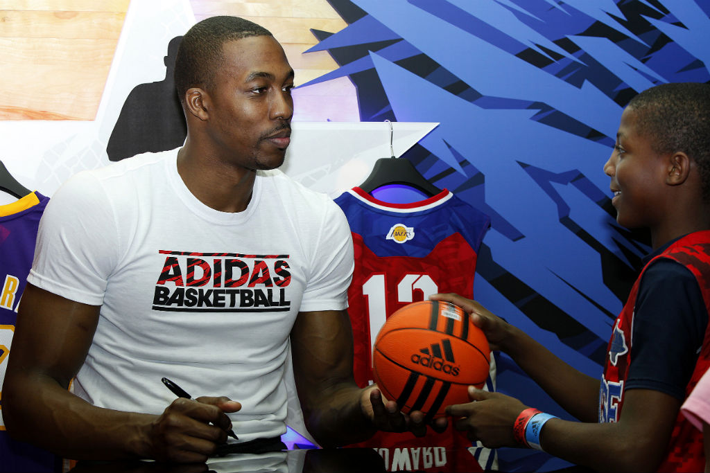 adidas Basketball Athletes Celebrate NBA All-Star // Dwight Howard (1)