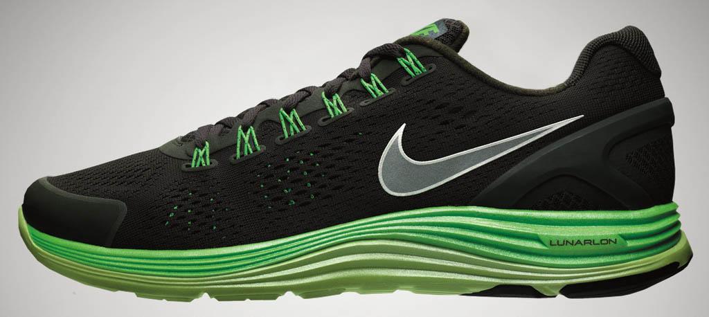 5454d50249dde Nike Lunarglide+4 Black Lunarlon Collection Summer 2012 (1)