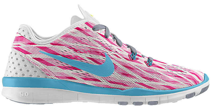 NIKEiD Free TR 5 Mother's Day by Zach LaVine