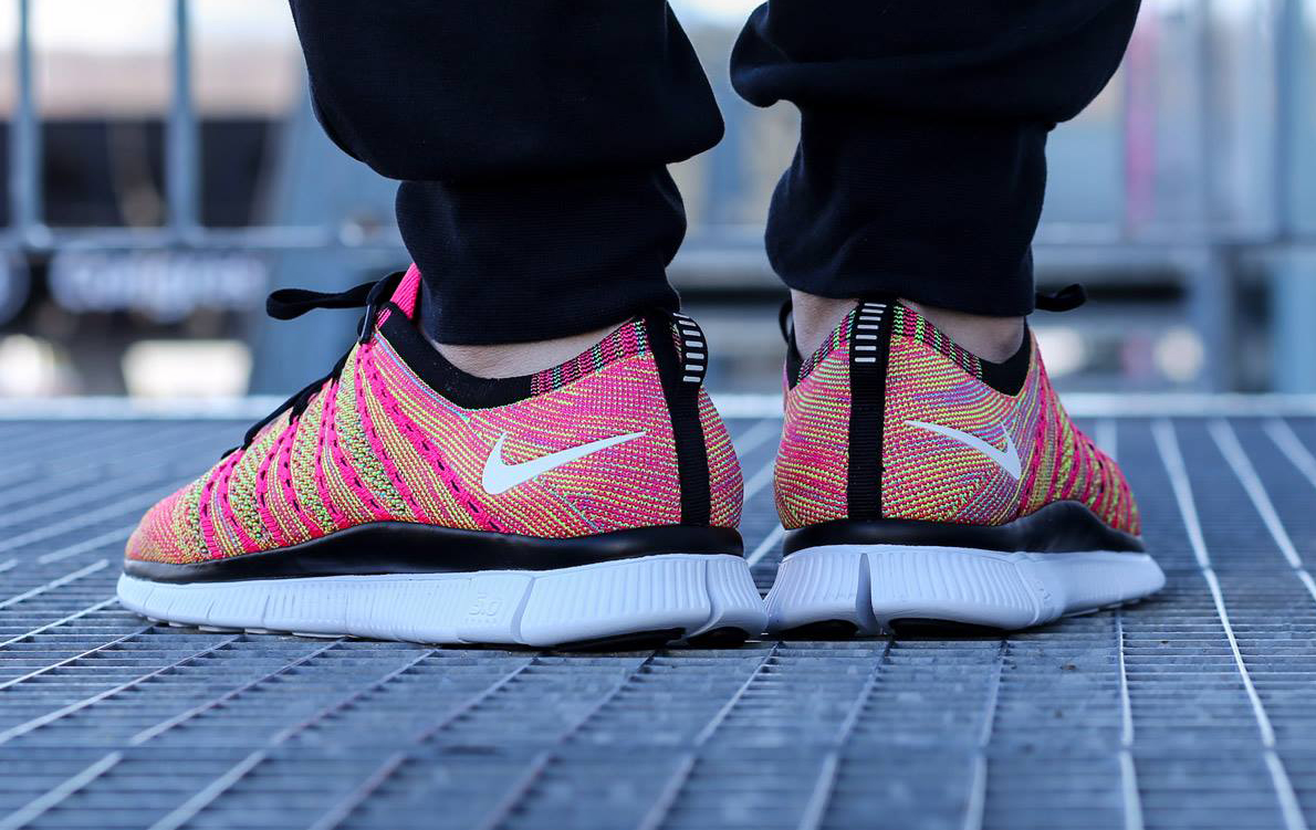 nike free flyknit 5.0 nsw womens red