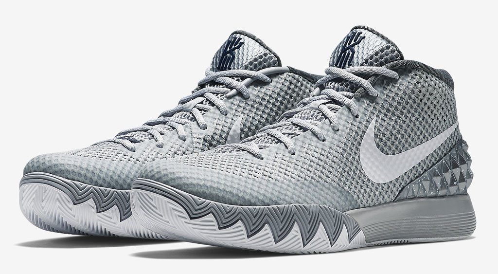See How the  Wolf Grey  Nike Kyrie 1 Looks On-Feet  821c2c8ee