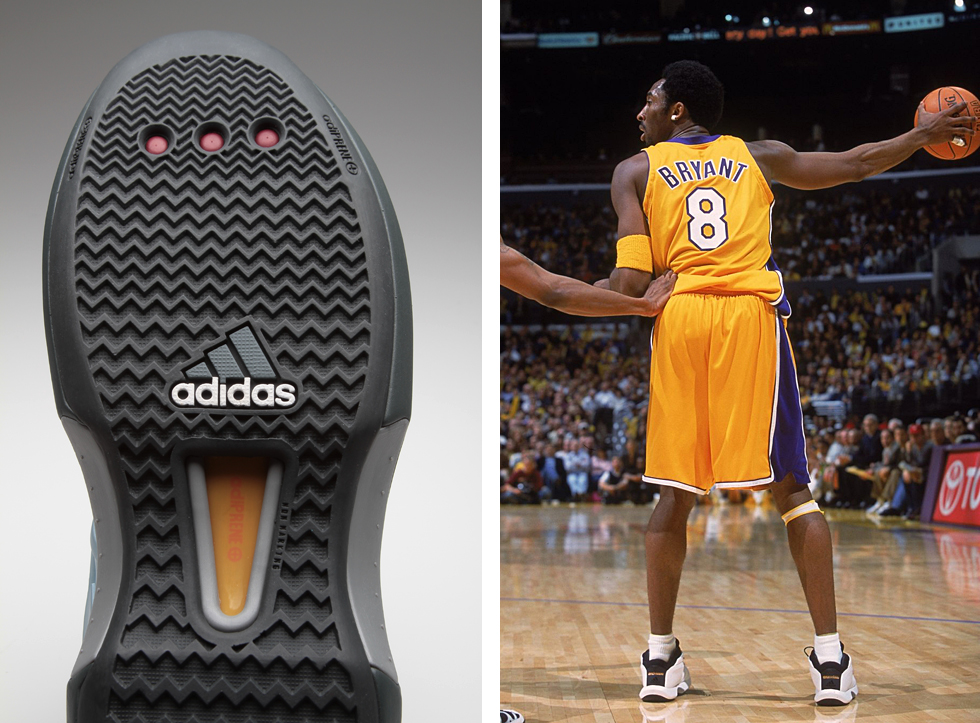 the latest 12dd5 e1a41 Original adidas The Kobe Samples From 2001 In 'Ice Blue' | Sole ...
