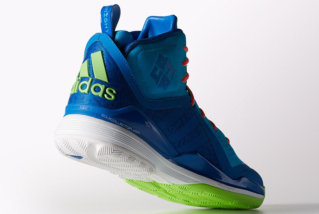 adidas D Howard 5 - Blue/Green (5)