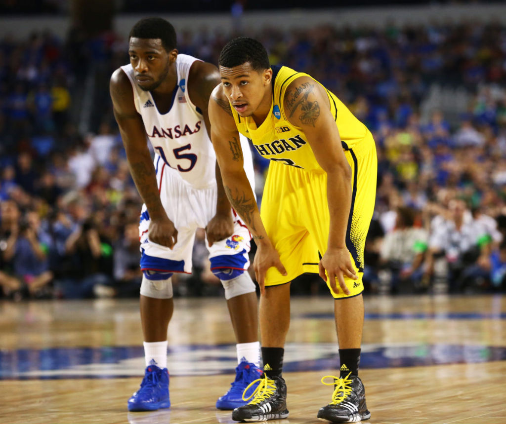 Trey Burke wearing adidas Crazyquick (4)