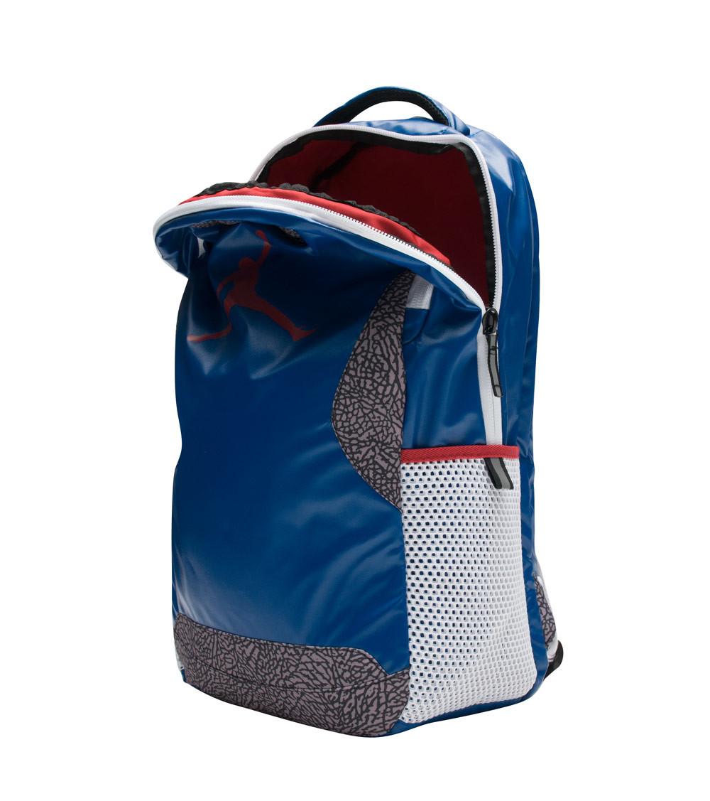 premium selection d2216 d7c3f True Blue Jordan 3 Backpack 1