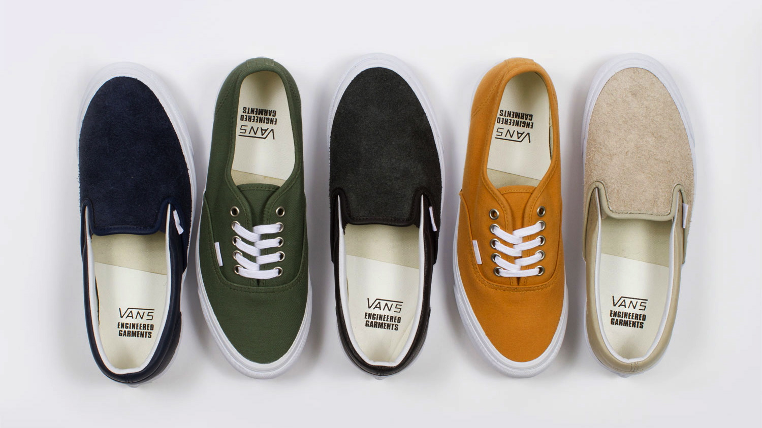 engineered garments x vault by vans collection