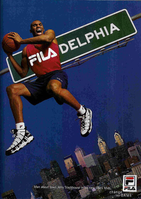 Jerry Stackhouse FILA ad