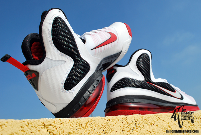 newest 8868a c02c4 Nike LeBron 9 - Miami Heat Home - New Images lebron 9 scarface ...