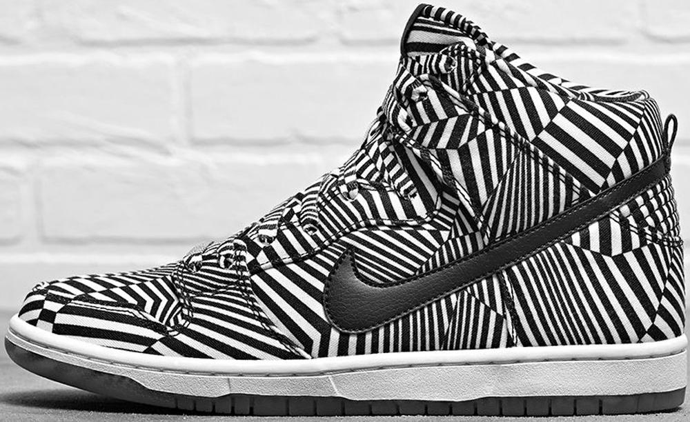 Nike Dunk High Premium SB White/Black