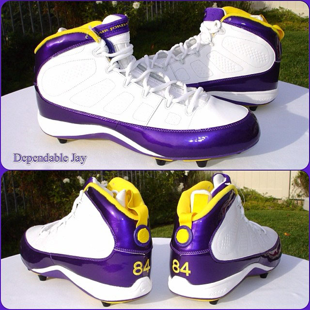 Randy Moss' Air Jordan 9 IX PE