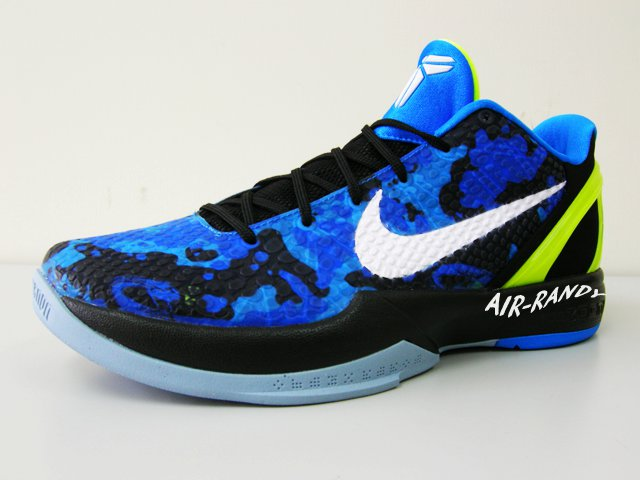6fb34730c10f Nike Zoom Kobe VI Photo Blue Black White Volt Camouflage 429659-401