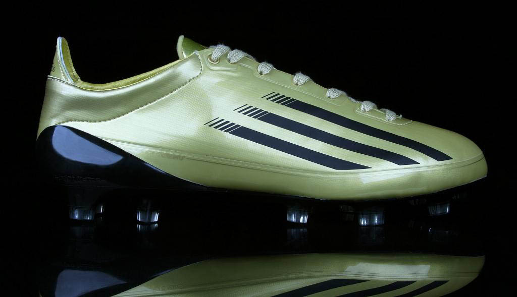Robert Griffin III NFL Combine Cleats Gold adiZero 5-Star Low