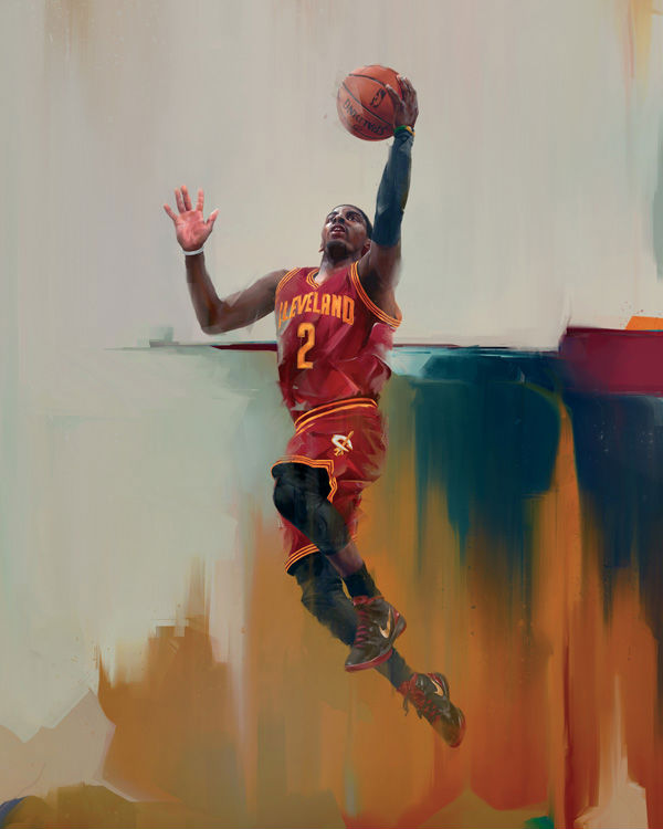 RareInk x NBA Kyrie Irving Artwork