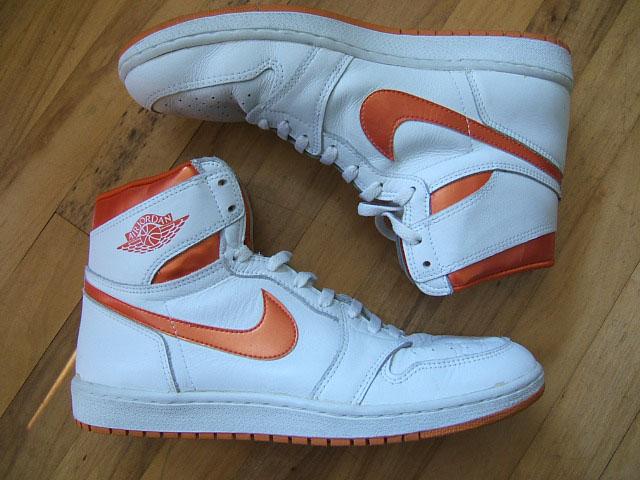 Air Jordan I OG White/Metallic Orange