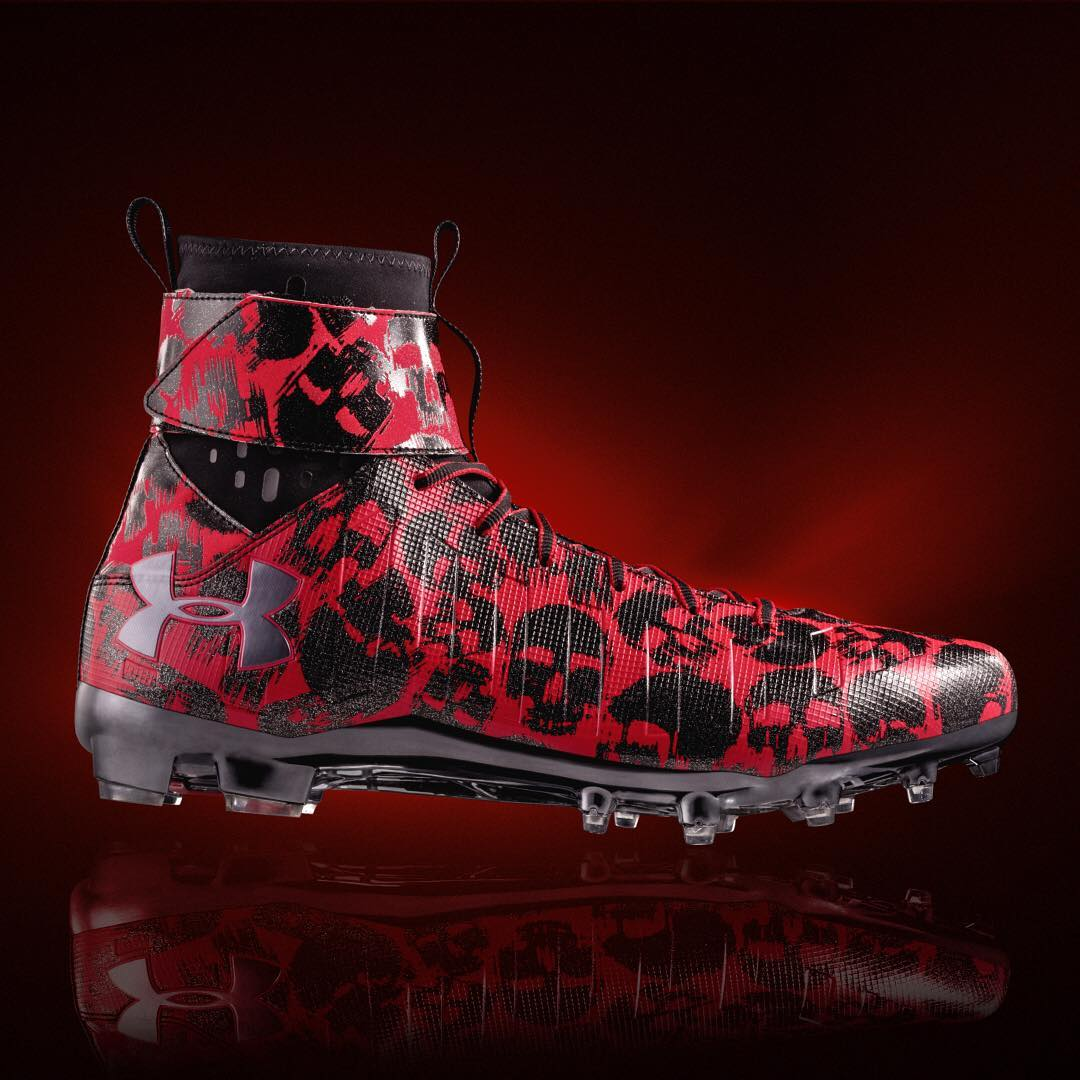 f152eeea9e5 Cam Newton Wears Under Armour Halloween Cleats Official