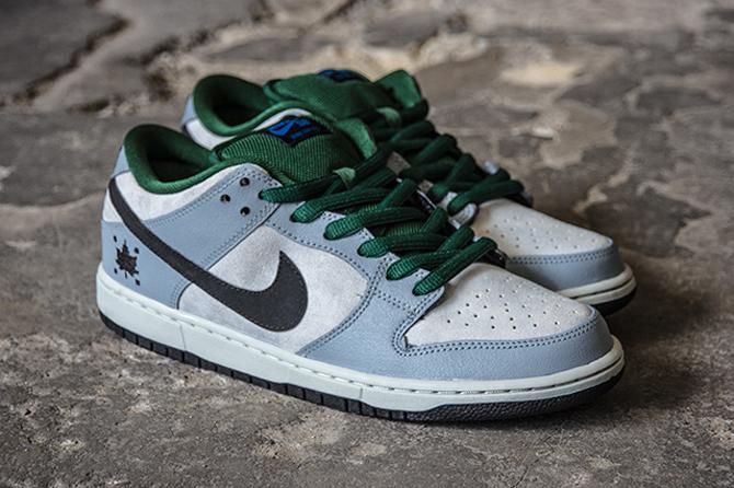 urzędnik na stopach zdjęcia wysoka moda Leaf Logos for This New Nike SB Dunk Low | Sole Collector