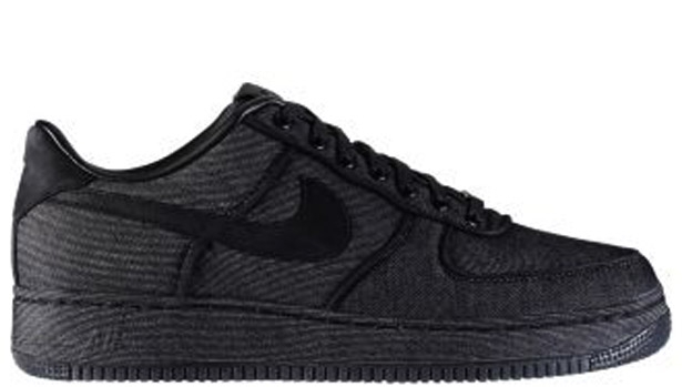 Nike Air Force 1 Low Premium Black/Black