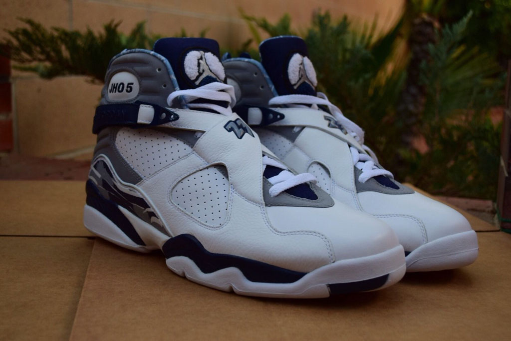 competitive price 1bcd2 1e4ef Air Jordan 8 Josh Howard PE Mavericks (7)