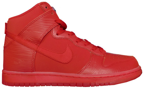 official photos 06c6c d4d46 ... discount nike dunk high red woodgrain may 2014 b0797 a56de