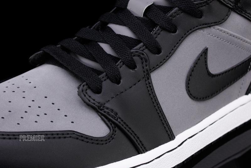 dcf7235dedc76 Air Jordan 1 Phat Cool Grey Black White 364770-023 (4)