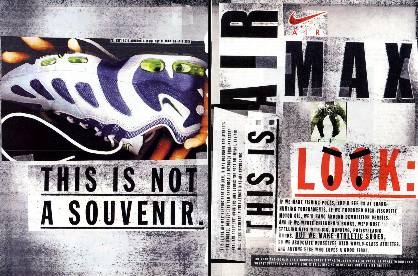 c2a6bb852a1755 Vintage Ad  Nike Air Max 96