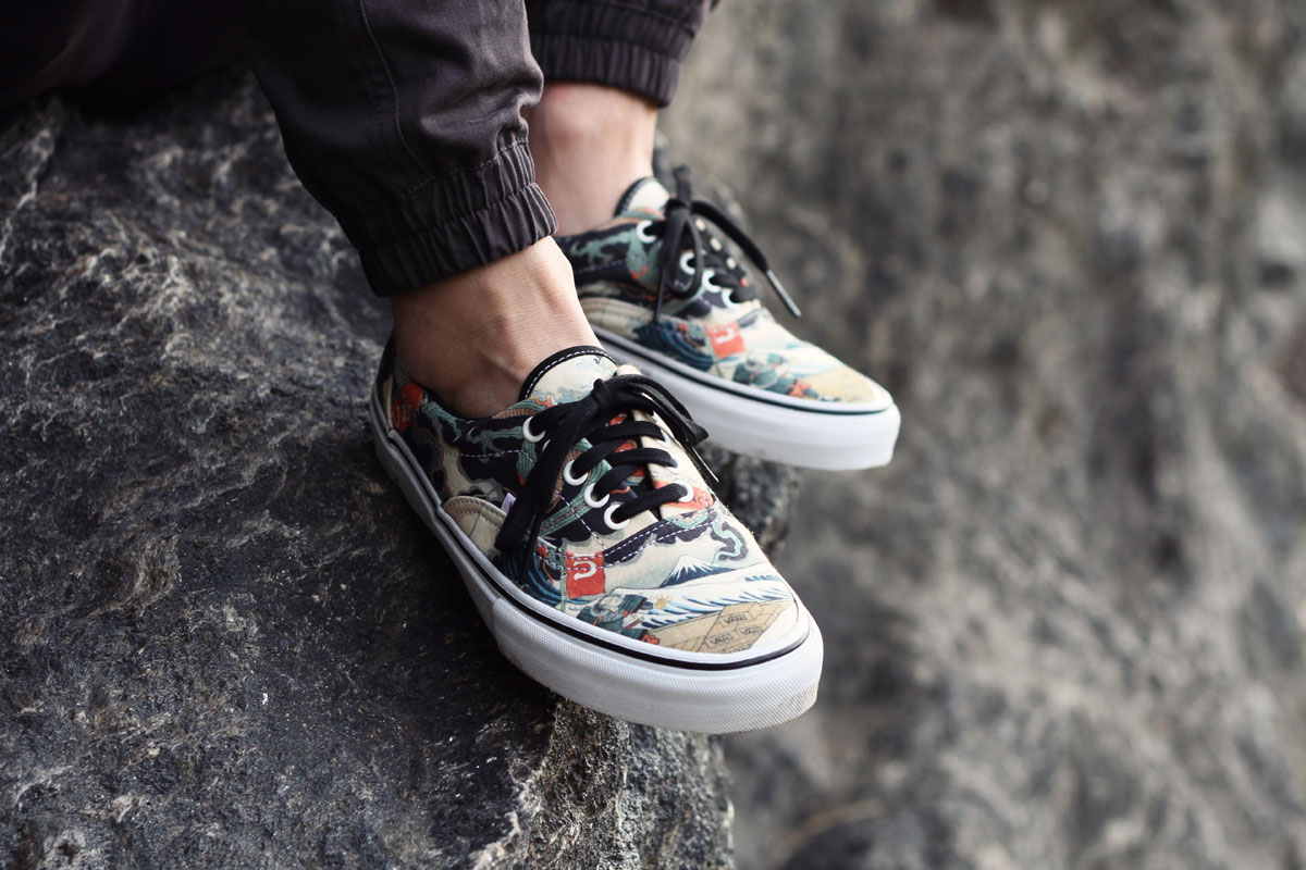 UBIQ x Vans Vault Three Tides Tattoo Era LX