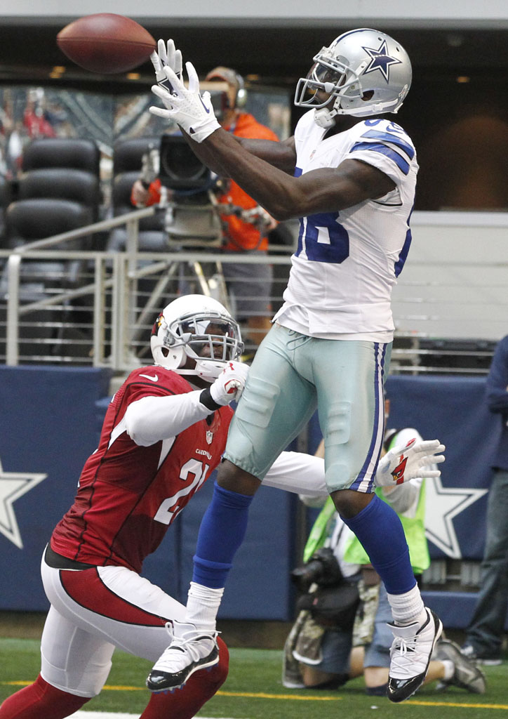 Dez Bryant Wears Concord Air Jordan 11 Low Cleats Sole