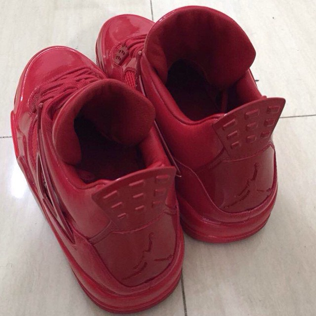 Air Jordan 11Lab4 Red 719864-600 (6)