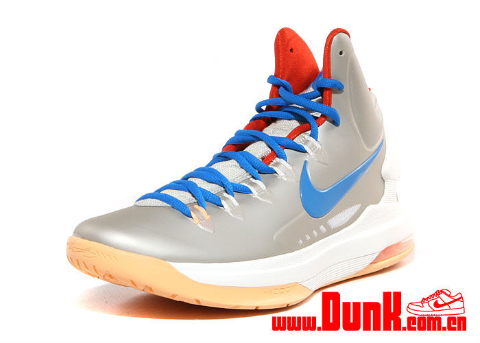 Nike KD V Birch Photo Blue Sail Team Orange 554988-200 (3)