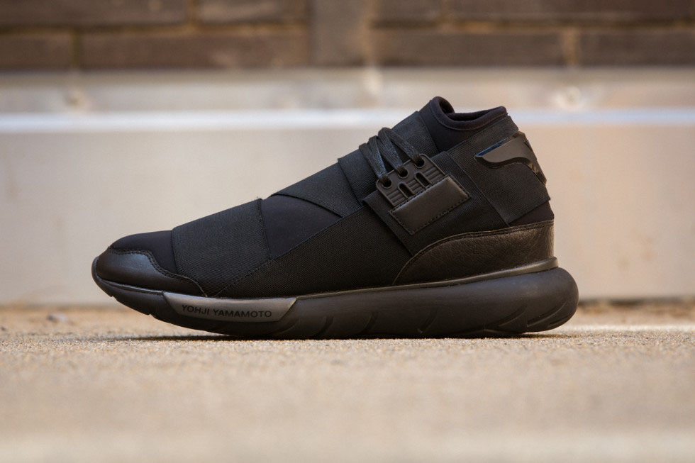 d80465c37200d adidas Y-3 Qasa High in All Black