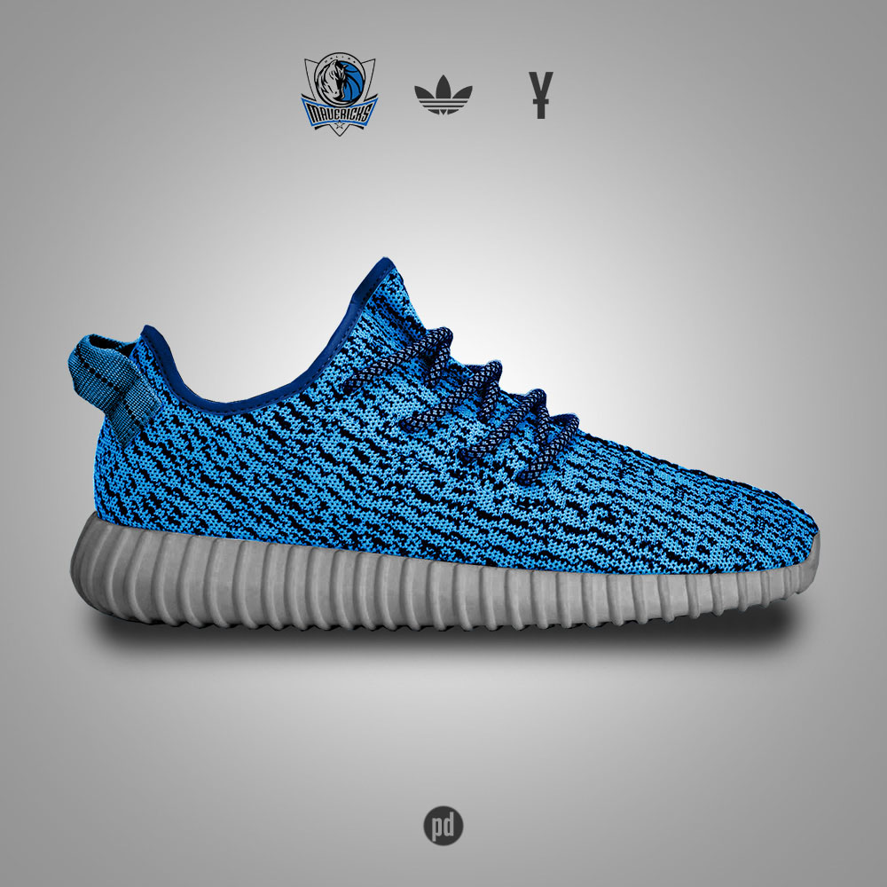 adidas Yeezy 350 Boost for the Dallas Mavericks