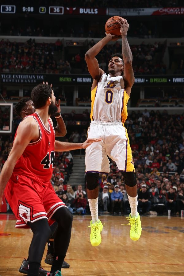 the best attitude 329b7 7b40d SoleWatch: Nick Young Lights Up Chicago in the 'Volt' Nike ...