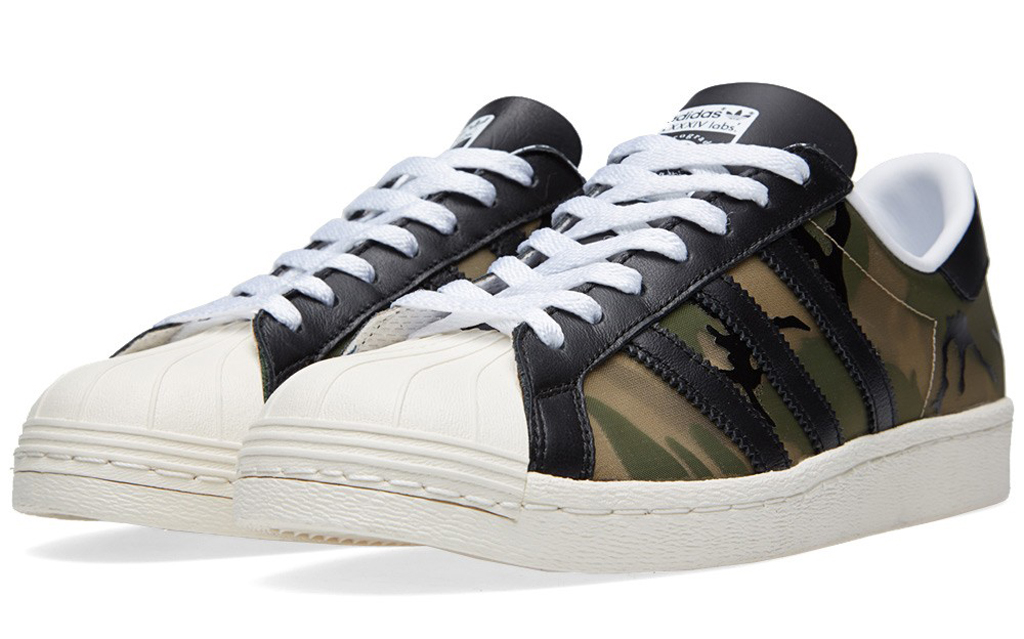 CLOT Covers the adidas Superstar 80s in Camo