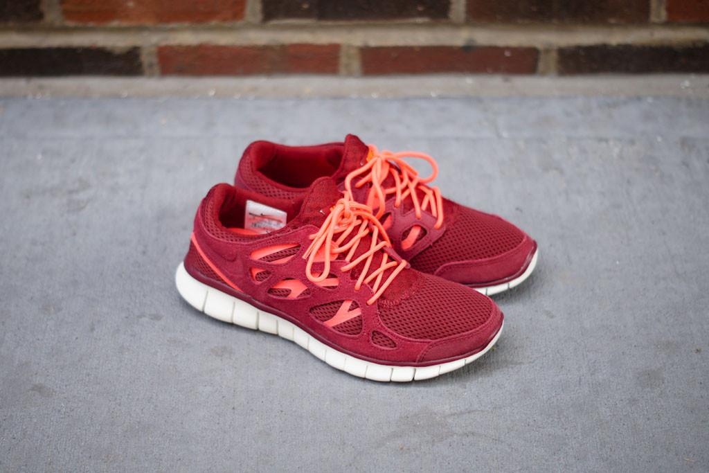 Nike Free Run 2 Mortiers Rouges obtenir authentique vente classique rrUstA